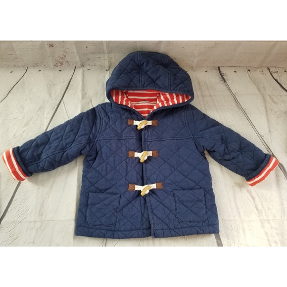 Mini Boden Jackets Coats Quilted Jacket Boys Sz 23 Poshmark